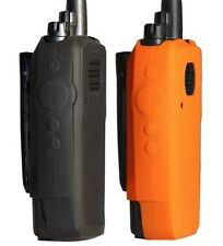 Radio Grips - MotoTRBO XPR Series No Keypad - Silicone Carry Case **Orange**