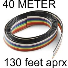 Ribbon Flat Cable Wire Strip Repairing Soldering CORE 10 STRAND 40 Meter #346_2