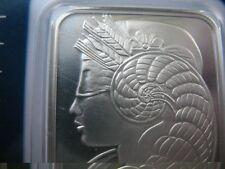 1  OZ.999 PURE SILVER SWISS PAMP SUISSE MINT BAR COA Lady Fortuna+ GOLD
