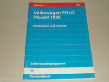 SSP 166 VW Selbststudienprogramm Service Training Polo Modell 1995 6N