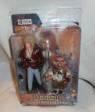 Cult Classics Labyrinth David Bowie Jareth The Goblin King & Hoggle Figure Neca