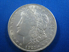 U.S.  1921   MORGAN DOLLAR - AU       (cnm$4)