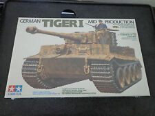 TAMIYA German Tiger I Mid Production 1/35 Military Miniature 35194   NEW Sealed