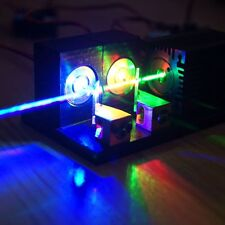 Plug&Play 1000mW RGB White Laser Light Module/520nm+638nm+450nm/TTL Modulation