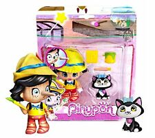 PINYPON MORE TALES PINOCCIO WITH CAT MINI DOLL NEW IN PACKAGE