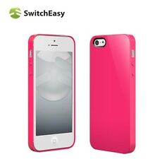 Apple iPhone 5 5S Case SwitchEasy Nude Plastic Hard Cover Ultra Slim Pink New