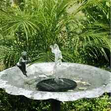 Floating Solar Powered Fountain Water Pump For Pond Garden Tank Yard Bird Bath