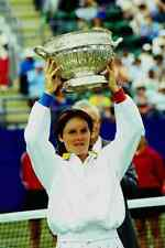 766040 Tauziat Winner Eastbourne Ladies Tennis 1995 A4 Photo Print
