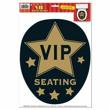 VIP Seating Toilet Topper - 28 x 34.5 cm - Hollywood Party Chair Seat Decoration