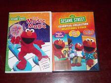 Sesame Street Essential Collection: Milestones & Elmo's Music Magic dvd