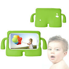 "Kids Shockproof Case Green Soft  Shell Cartoon Cover For 7"" Samsung Galaxy Tab3"