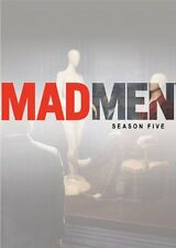 MAD MEN: SEASON 5 DVD - THE COMPLETE FIFTH SEASON [4 DISCS] - NEW UNOPENED
