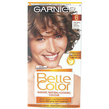 GARNIER BELLE COLOR 6 NATURAL LIGHT BROWN  HAIR COLOUR