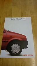 1985 Daihatsu Domino Brochure