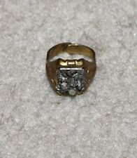 VINTAGE 1940'S CAPTAIN MIDNIGHT MINING ORE OVALTINE PREMIUM RING   SCARCE