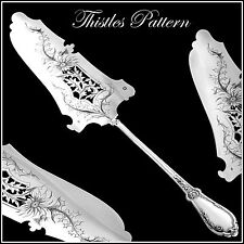 VEYRAT Gorgeous French All Sterling Silver Pie/Pastry/Fish Server Thistles