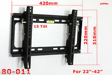 Duramex TILT WALL MOUNT LCD LED PLASMA PANEL BRACKET TV 22 26 28 32 36 39 42