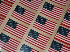 UNITED STATES FLAG NAVY Football Helmet Decals Qty (4) FULL SIZE 3M 20MIL