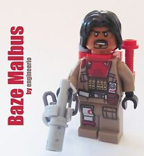 LEGO STAR WARS Custom Baze Malbus Rogue One mini figure 75153