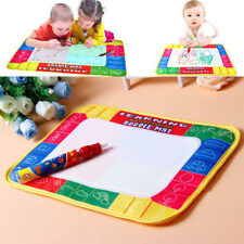 Kid Boy Girl Drawing Water Pen Painting Magic Doodle Aquadoodle Mat Board Toy