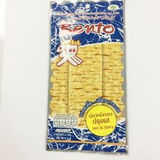 Yummy from Thailand,BENTO Squid Seafood Snack Hot & Spicy Flavour 5g Dried Food