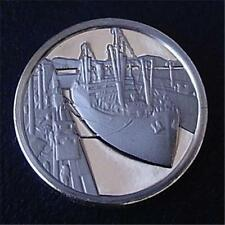 Franklin Mint STERLING SILVER Mini-Ingot 1914 PANAMA CANAL Opens - UNCIRCULATED