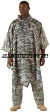 Army USMC PONCHO ENHANCED NYLON RIPSTOP ACU Digital Military NEW Free Shipping