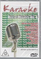 DVD--KARAOKE--BEST OF MEGAHITS VOL 6