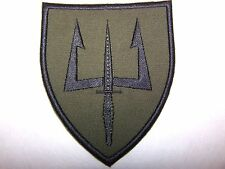 Norway Norwegian Armed Special Forces Patch (Black on Green)