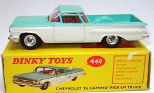 DINKY NO. 449 CHEV EL CAMINO PICK UP TRUCK - RARE & BOXED