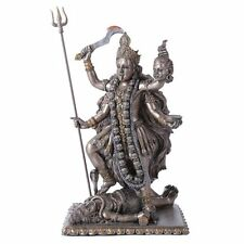 "Hindu Collectible Goddess of Time and Change Kali Kalika Statue Figurine 8.75""h"