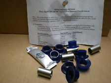 Triumph TR6 TR4A ** Front TRUNNION BUSH KIT IN POLY - CAR SET ** TR5