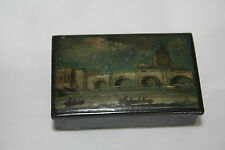 Important  London  PAINTED SNUFF BOX  LATE 1700s after William Marlowe