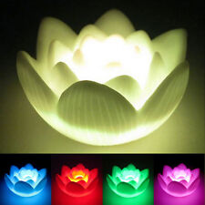 Lotus Color Changing LED Flower Love Mood Lamp Night Light Favor Home Decor