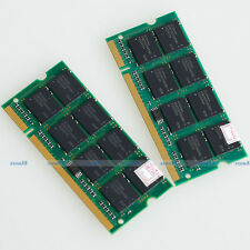 2GB 2 x 1GB PC2700 333mhz SODIMM DDR 333 Mhz 200pin DDR1 Laptop Memory Free Ship