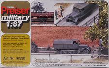PREISER Military 16538 Halbketten-Zugmaschine 3 to Wehrmacht 1:87/ H0 [H]
