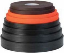 "100 ft roll Weaver Soft Grip 5/8"" BLACK- stronger than ""thane"" material made USA"