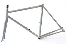 Atir Cycles Glow In The Dark Silver Single Speed Fixed Gear 50cm Frame & Fork