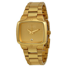 Nixon Small Player Gold-tone Stainless Steel Ladies Watch A3001511