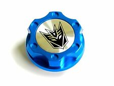 FORD MUSTANG DECEPTICON BILLET BLUE ENGINE OIL CAP