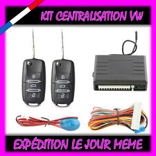 KIT TELECOMMANDE CENTRALISATION DISTANCE VOLKSWAGEN VW GOLF 4 1.4 1.6 16v
