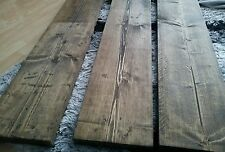 Reclaimed wood shelf - 100cm, toute taille faite