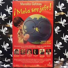 MANOLITO GAFOTAS en ¿MOLA SER JEFE! (Joan Potau) VHS . Doro Berenguer, El Gran W