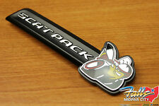 2015-2016 Dodge Charger Scat Pack Front Grille Clip On Emblem Nameplate Mopar