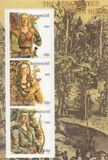 THE ADVENTURES OF ROBIN HOOD BERNERA ISL 2000 MINIATURE MNH STAMP SHEETLET