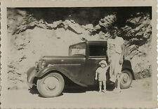 PHOTO ANCIENNE - VINTAGE SNAPSHOT - VOITURE AUTOMOBILE MICRO CAR TACOT MODE -CAR