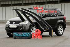 Suzuki Grand Vitara 2005-2014 5 door Wind Deflectors 4 pcs. HEKO (28617)