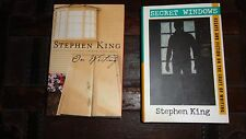 ON WRITING & SECRET WINDOWS Stephen King first edition 1st print hardbck DJ VGUC