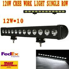 20 inch single row LED CREE light bar for truck 4WD boat UTE driving ATV lamp120