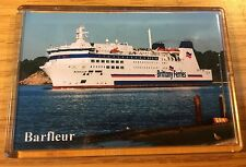 Brittany Ferries BARFLEUR Large Fridge Magnet Car Ferry Ro-Ro Poole